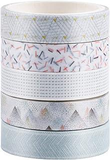 10 Rouleaux Washi Tape 15 m Ruban Adhésif Papier Décoratif Masking Tape pour Scrapbooking Artisanat de Bricolage les embal...