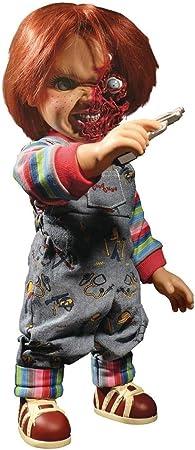 Muñeco Chucky 38 cm. Pizza Face, Muñeco diabólico 3. Con sonido. MDS serie. Mezco Toyz