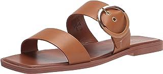 Franco Sarto Women's Merris Flat Sandal, Tan, 5.5