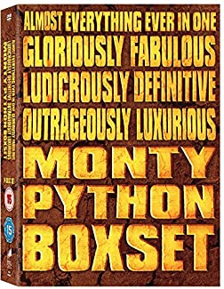 Almost Everything Ever In One Gloriously Fabulous Ludicrously Definitive Outrageously Luxurious Monty Python Boxset