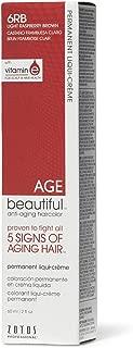 AGEbeautiful 6RB Light Raspberry Brown Permanent Liqui-Creme Hair Color 6RB Light Raspberry Brown