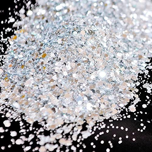 Gabcus 500g Ranking TOP18 bag Mix Houston Mall Color Size Nail Glitter Powder DIY Tips