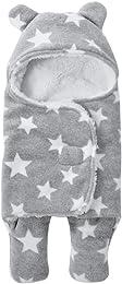 Unisexe Gigoteuse d'emmaillotage Epais avec Capuch