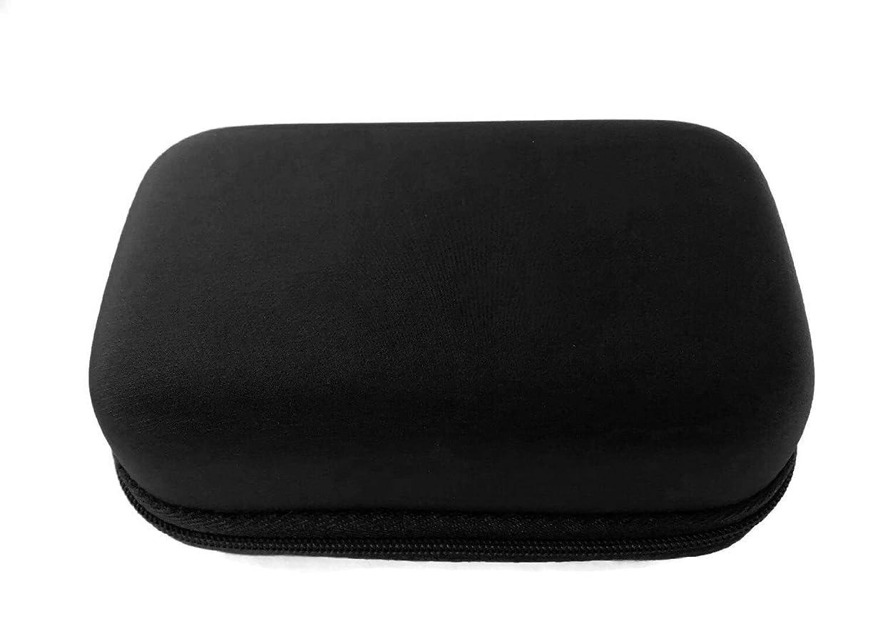 高い便利さ決定的エッセンシャルオイル ポーチ スージングテラ ハード(S) (ブラック(黒))
