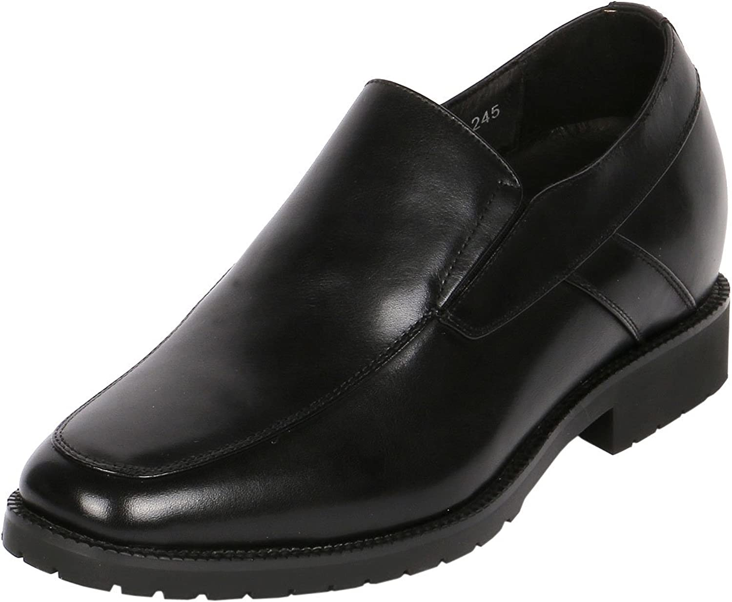 Men's Jota Apron Toe Slip-On shoes Increasing Hight 3  Taller, CYD84