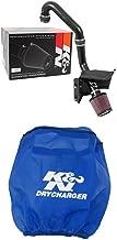 K&N 69-8010TTK Performance Air Intake System with Blue Air Filter Wrap