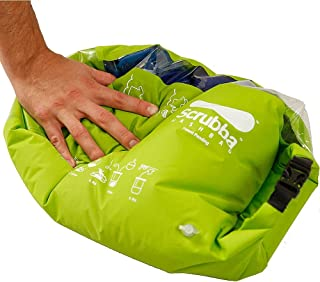 Scrubba Wash Bag - Portable Laundry System For Camping, Hiking, Backpacking and Travel