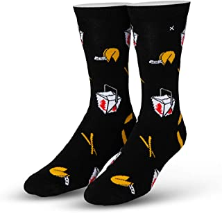 Odd Sox, Unisex, Food, Chinese Take Out, Crew Socks, Novelty Funny Silly Cool