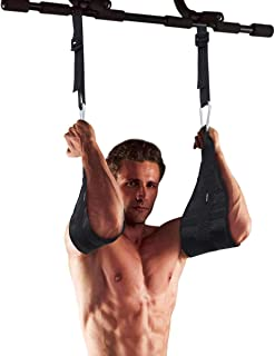 WINOMO Adjustable Ab Straps Fitness Abdominal Slings Rip-Resistant Fabric with Quick Locks for Pull Up Fitness