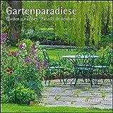 Gartenparadiese 2021 - Broschürenkalender - Wandkalender - mit herausnehmbarem Poster - Format 30 x 30 cm