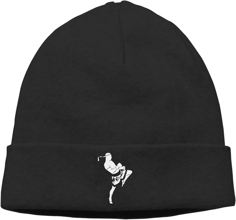 ZKYh85-0 Thick Ski Cap, Muay Thai Beanie Hat for Mens Womens