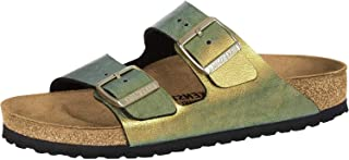 Birkenstock Arizona SFB Suede Womens Gunmetal Sandals