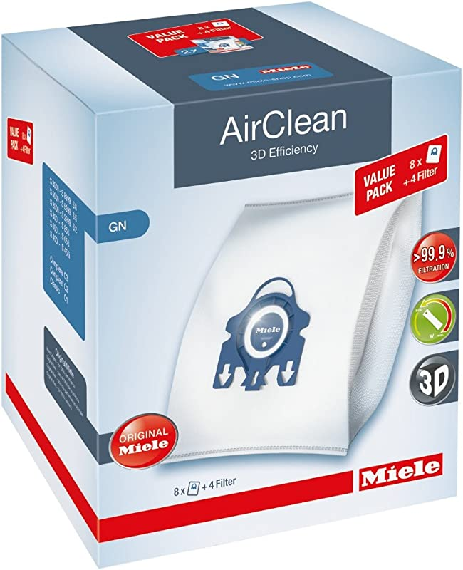 Miele AirClean 3D XL Pack GN Dust Vacuum Bag White
