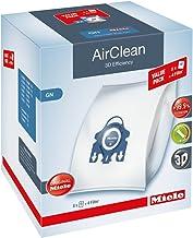 Miele AirClean 3D XL-Pack GN Bolsa de aspiradora para Polvo, Blanco, 8 Unidades