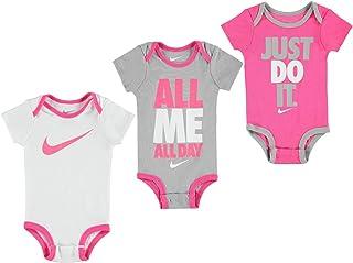 8611532568093 Nike - Barboteuse - Bébé (garçon) Multicolore 3 Pack Pink/Grey/White