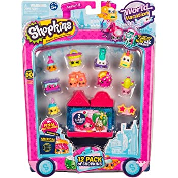 Shopkins Season 8 America Toy 12 Pack | Shopkin.Toys - Image 1
