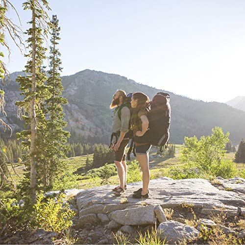 TETON Sports Explorer 4000 Internal Frame Backpack; High-Performance Backpack for Backpacking, Hiking, Camping; Navy Blue