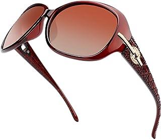 نظارات شمسية مستقطبة عصرية كبيرة الحجم للنساء من سانير S85