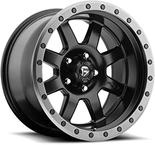 FUEL TROPHY BD -Matte BLK Wheel with Painted (18 x 10. inches /5 x 150 mm, 20 mm Offset)