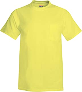 Hanes Men's Short Sleeve Beefy-T with Pocket