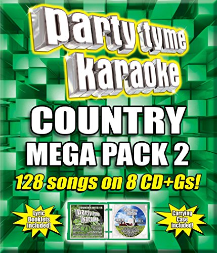 Party Tyme Karaoke: Country Mega Pack 2 [Importado]