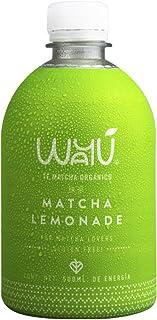Té Verde Matcha Orgánico con Limonada, Wayu Matcha Lemonade (100% Natural y Sin Azúcar) 500 ml (6 Piezas)