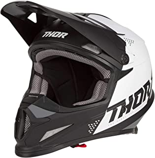 Thor Motocross-Helm Sector Blade Schwarz/Weiß