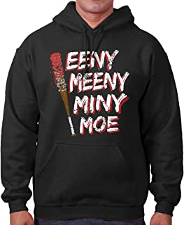 Brisco Brands Scary Dead Humans Cool Zombie TV Show Hoodie