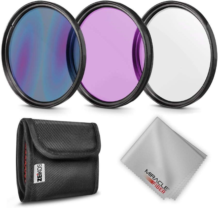 Zeikos Ze Flk40 5 Glass Filter Kit Camera Photo