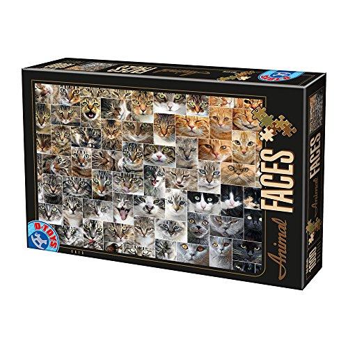 Unbekannt Puzzle 1000 Teile - Collage - Katzen