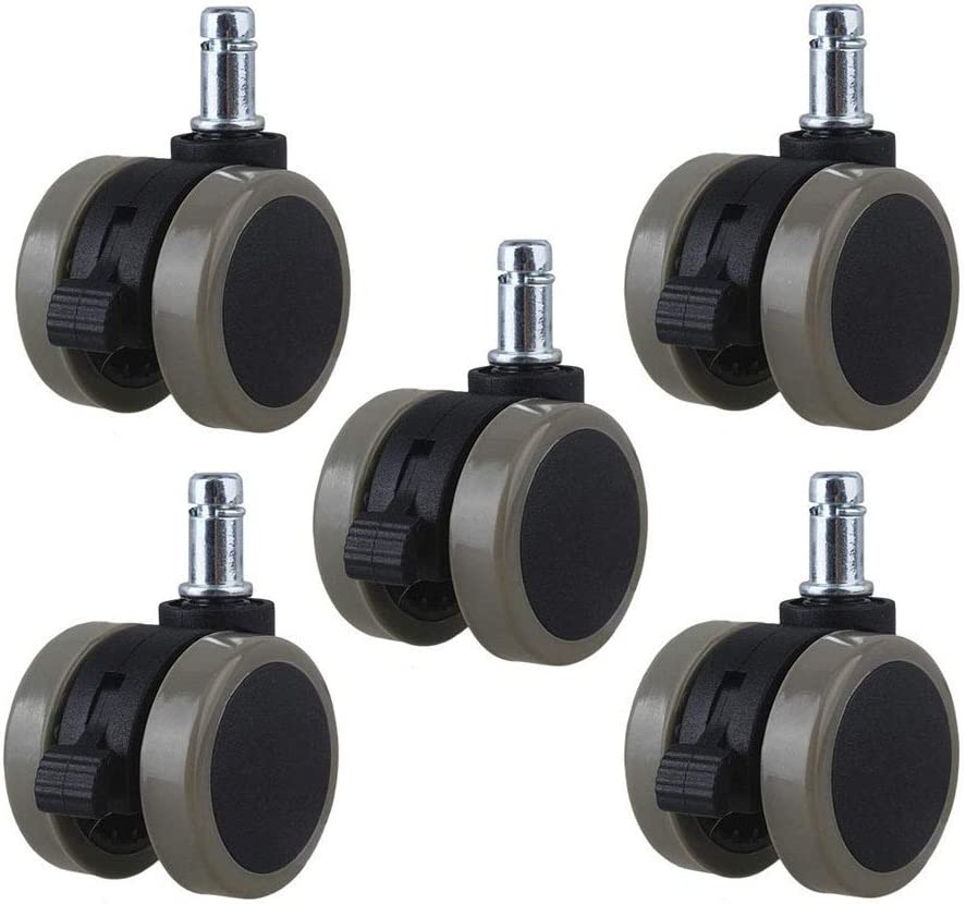 LIUXB-X 2 Inch Office Chair Swivel In a popularity Furniture Wheels Casters Max 43% OFF Grip