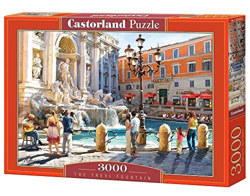 Castorland - C-300389-2 - Puzzle - Fontaine de Trevi à Rome - 3000 Pièces