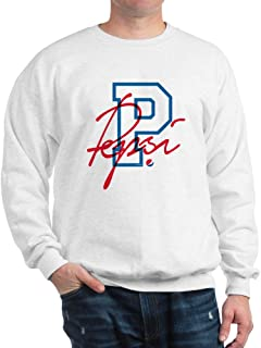 CafePress Pepsi Varsity Letter Classic Crew Neck Sweatshirt