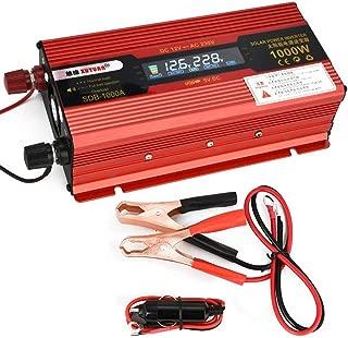 1500W dellautomobile del veicolo onda sinusoidale modificata Auto Power Inverter convertitore del caricatore T8094 Solar Inverter DC 12V a 220V AC 1000W