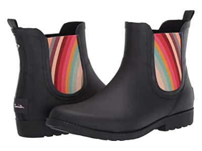 Paul Smith Ellie Short Rain Boot (Black) Women