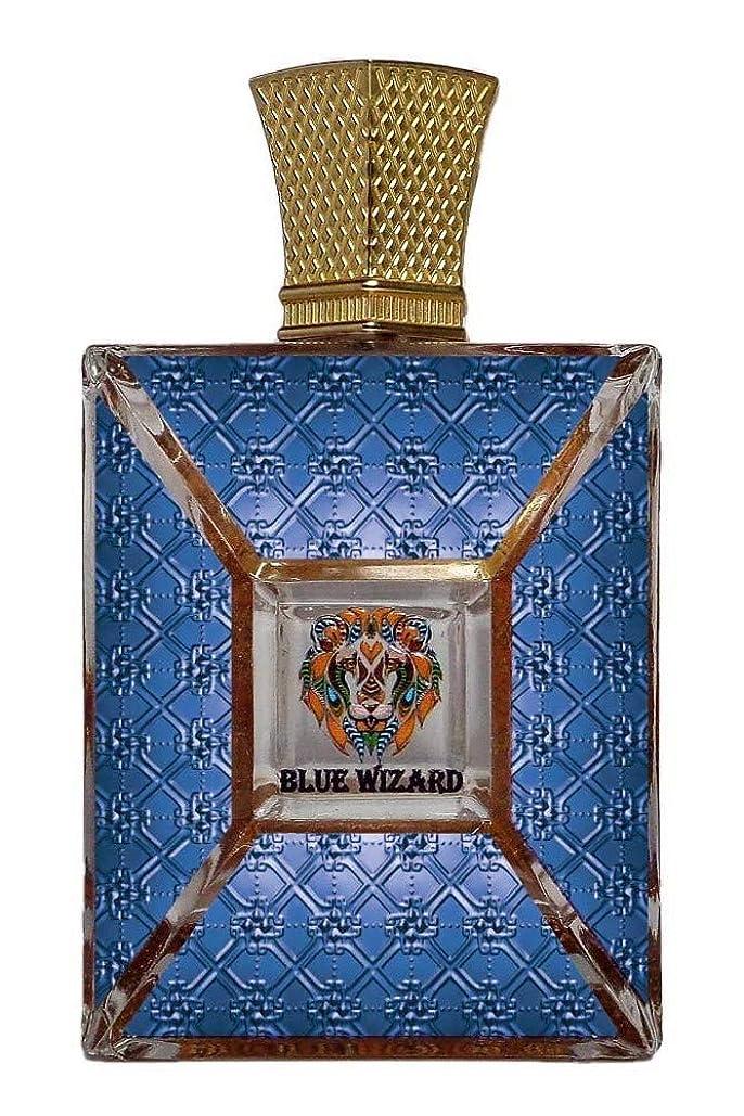 殺す人類栄光BLUE WIZARD(ロイヤルクリード)フランス。男性のためのオードパルファムSpay。 100ml(3.4オンス。Wt 680gm。ボックスサイズ17 x 11.5 x 6 cm