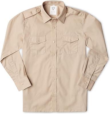 Camisa estilo militar para niños