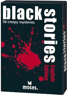 "Moses Verlag MOS00364 ""Black Stories 1 English Version"" Board Game"
