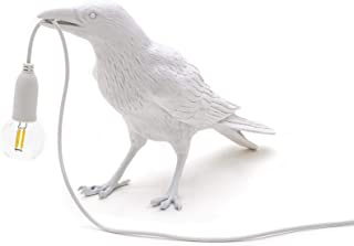 Seletti Bird Lamp White Waiting