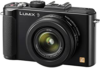 Panasonic LUMIX DMC-LX7K 10.1 MP Digital Camera with 3.8x Optical zoom and 3.0-inch LCD -  Black