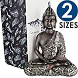 "25DOL Buddha Statues for Home. 7.3"" Buddha Statue (The Final Meditation). Collectibles and Figurines, Meditation Decor, Spiritual Living Room Decor, Yoga Zen Decor, Hindu and East Asian Décor"