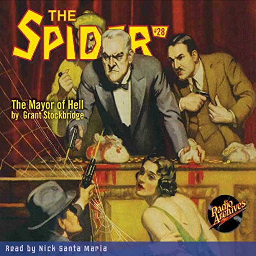 Spider #28 January 1936 audiobook cover art