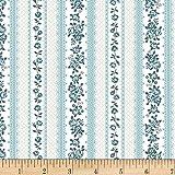 Stof Fabrics of Denmark 0672260 Denmark Ruby Stripes and