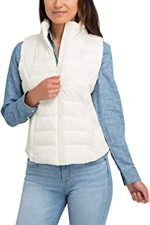 U.S. Polo Assn. Womens Quilted Zip Up Outerwear Vest