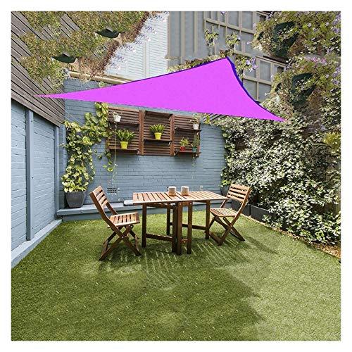 OZYN Toldo Vela, Triangular 90% Protección UV Impermeable A Prueba De Viento Vela Solar para Patio, Exteriores, Jardín, Terraza Y Balcón (Size : 3X3x3M)