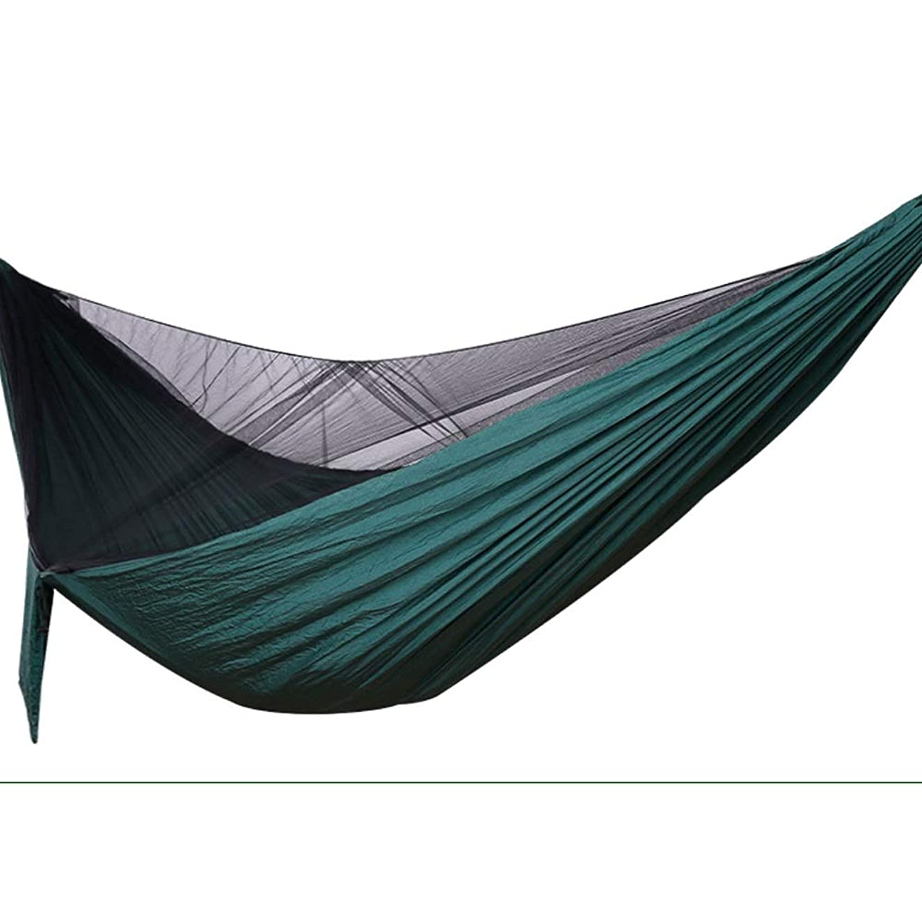 Mosquito Net for Single Camping Bed, Hammock with Mosquito Net, Hammock with Mosquito Net and Cover, with Accessories/Suitable for Camping, Beach