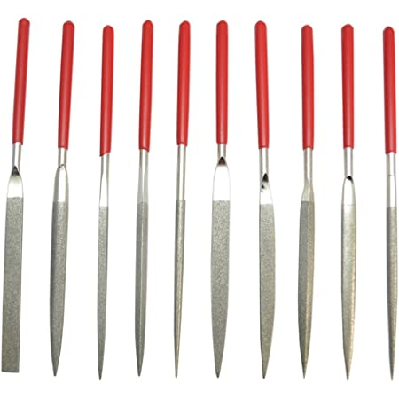 Atoplee 10pcs Needles File Jeweler Diamond Wood Ceramic Carving Polishing EngravingCraft Tool Set
