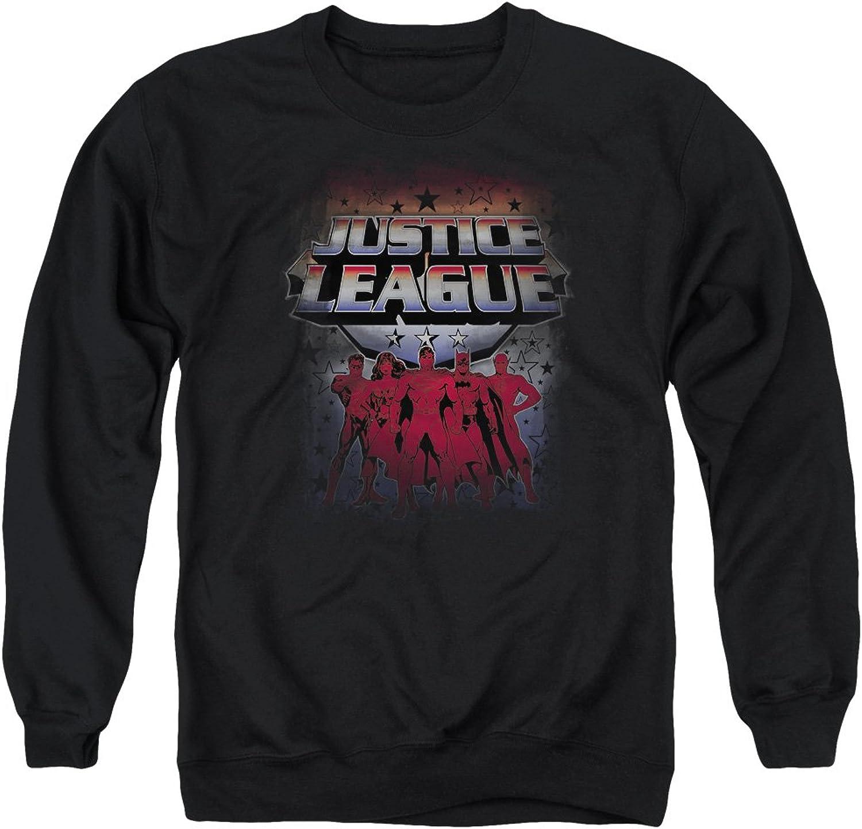 Justice League  Mens Star League Sweater