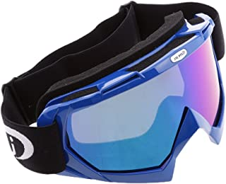 Baoblaze Gafas de Motoristas Protección de Rayos UV Polvo para Deportes a Aire Libre Esquí