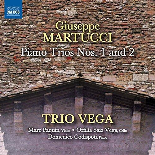 Martucci:Piano Trios 1 & 2 [Trio Vega] [NAXOS: 8573438] by Trio Vega (2015-07-25)